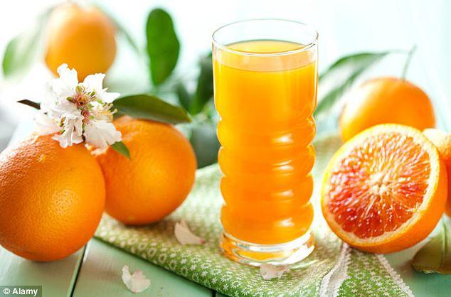 Fruit juice time bomb 1